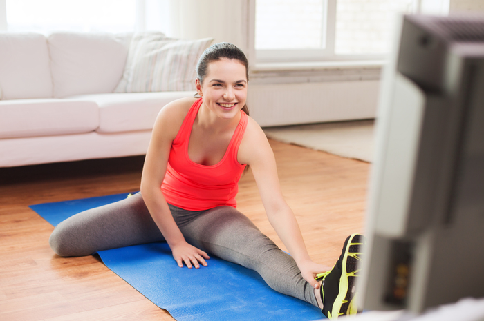 How To Get Fit While Watching TV