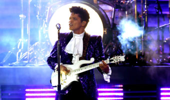 Bruno Mars Won't Play Prince in New Movie